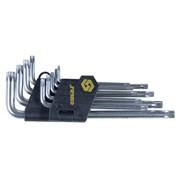 Ключи torx 9шт T10-T50мм CrV (короткие с отвер) sigma 4022211 фото