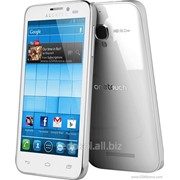 Сенсорный дисплей Touchscreen Alcatel 5036D POP C5/5036X, white фото