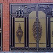 Ворота распашные РВ-5 фото