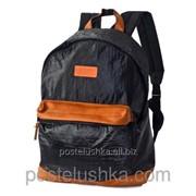 Рюкзак классика дутый DERBY с карманом для ноутбука 14* Черный фото