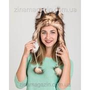 Меховая шапка ушанка с ушками 7 фото