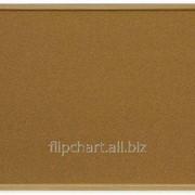 Доска пробковая в раме MDF 90х60 см 2x3 (Польша) TC96 фото