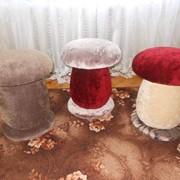 Стульчики-грибочки фото
