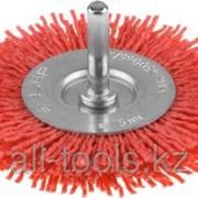 Щетка Зубр Эксперт дисковая для дрели, полимерно-абразивная, 100мм Код:35161-100_z01 фото
