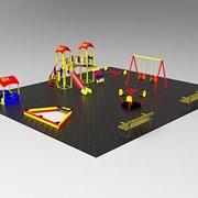Детская площадка под ключ Комплектация №3 фото