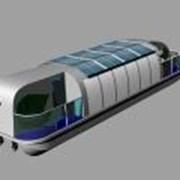 Экологичный водный трамвайчик из полипропилена фото