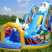 Батутный комплекс (Белые медведи) купить в Харьковской области фото