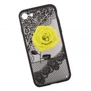 Защитная крышка «LP» для iPhone SE 2/8/7 Роза желтая (европакет) фото