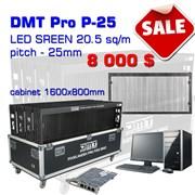 LED экран 4,8 х 3,2 м. DMT Led Pixel Mech P25 фото