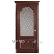 Межкомнатная дверь Арка, палисандр фото
