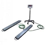 Балочные весы ЕВ4-2000-B, индикатор WI-5R фото