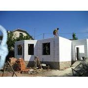 Строительство термодома в Кишинев Молдова. фото