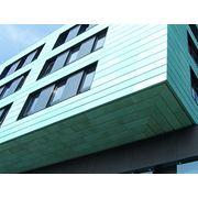 Сэндвич-панели Ruukki для фальцевых фасадов зданий фото