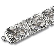 Браслеты серебряные на заказ фото