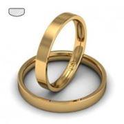 Обручальные кольца из золота фото