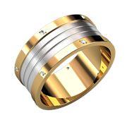 Кольца обручальные золотые фото