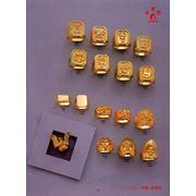 Перстень золотой с бриллиантом на заказ от компании Aur 24 Carate SRL фото