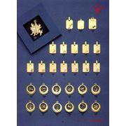 Pandative din aur la comanda bijuterii din aur si argint фото