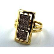 Золотые кольца с драгоценными камнями фото