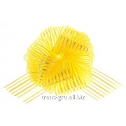Бант-шар №10 Полоски , цвет жёлтый фото
