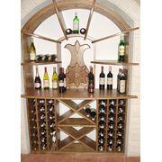 Винотека деревянная