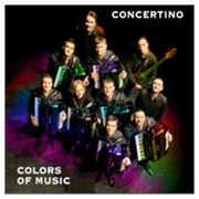 """""""COLORS of MUSIC"""" - CD Concertino 2011 Italy фото"""