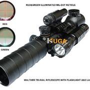 Коллиматор-Оптика Walther 3-9X32EG без ЛЦУ и Фонарика фото