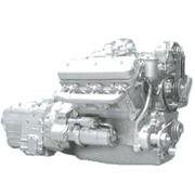 Двигатель 6-цилиндровый дизельный ЯМЗ без турбонаддува фото