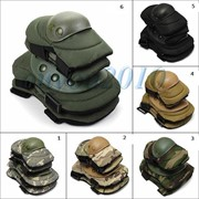 Тактические армейские наколенники+налокотники (комплект) фото