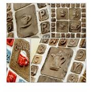 Керамические изделия декоративные авторский дизайн - панно фото