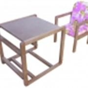Детский комбинированный стул-стол C-294 фото