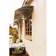 """Козырек для входной двери и окна """"Кварц-1200"""" фото"""