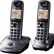 РадиотелефонDect Panasonic KX-TG2512UAM Metallic, код 32354 фото