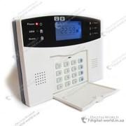 GSM сигнализация GSM026 с поддержкой проводных и беспроводных датчиков, с LCD дисплеем фото