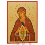 Икона Божией Матери Помощница в родах фото
