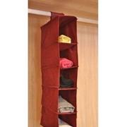 Органайзер вертикальный, 5 полок, узкий. фото