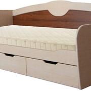 Кровать МДФ с выдвижными ящиками фото