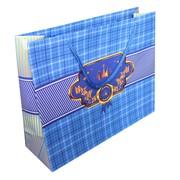 Пакет №4 (синяя абстракция) фото