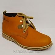 Горчичные мужские ботинки NiK фото