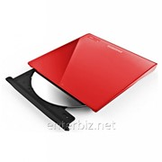 Привод DVD+/-RW Samsung SE-208GB/RSRD External USB Red, код 107837 фото