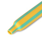 Термоусадочная трубка нг 40/20 желто-зеленая, по 1м (25 м/упак) передовик фото