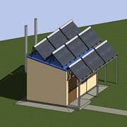 Проект энергоэффективной модульной миникотельной фото