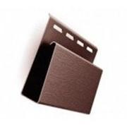 Наличник ( J-профиль широкий ) коричневый фото