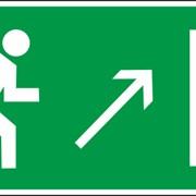 Знак эвакуационный И07 фото