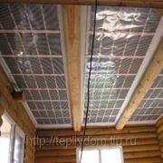 Отопление ИК-пленкой с потолка (шир.50 см) 220 вт/кв.м фото