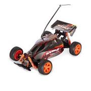 Р/У Автомобиль MioshiTech MAVERICK 1:18, до 12 км/ч черный (23.5 см, пульт с колесом, съёмный корпус) фото