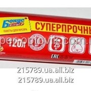 Мусорные пакеты Бонус 120 л. 10 шт. фото