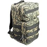 Рюкзак 55 литров серая цифра фото