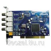 Линия SKW4х8 PCI плата видеозахвата на 4 камеры фото
