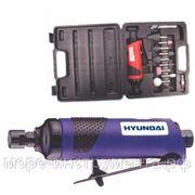 Пневматическая бормашинка Hyundai G210R-A1, с набором принадлежностей. 20000 об./мин. фото